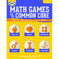 MATH GAMES FOR THE COMMON CORE GR 3