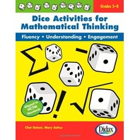 Dice Activities for Mathematical Thinking