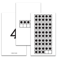 TEN FRAME 1-50 CARDS