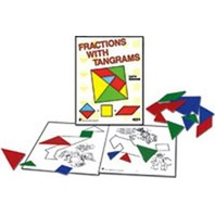 Fractions with Tangrams, Grades 2-4
