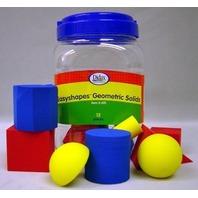 Easyshapes: Geometric Solids; Assorted Colors; 12 Piece Set; no. DD-2501