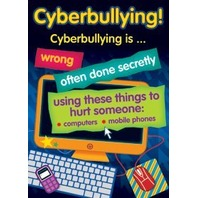 Bullying In A Cyber World Posters, Set Of 6