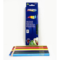 PRANG LG TRIANGULAR COLORED PENCILS