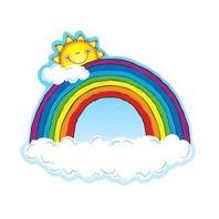 Carson Dellosa DJ-620024 Cut Outs Rainbows