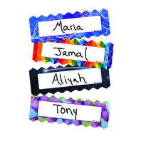 ZIGZAG & LIGHTING MAGNETIC NAME