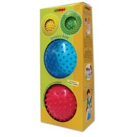 Edushape 4 Pack Sensory Ball Mega Pack, Colors May Vary