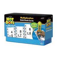 Educational Insights Hot Dots Math Flash Cards Multiplication