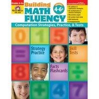 Evan-Moor Building Math Fluency, Grades 4 6+