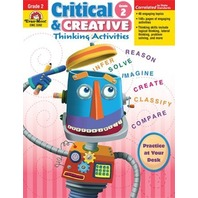 Critical and Creactive Thinking Activities, Grade 2