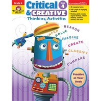 Critical & Creative Thinking Activities, Grade 4
