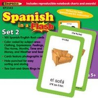Spanish In A Flash - Set 2; no. EP-2343
