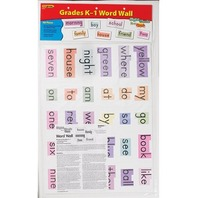 Sight Words in a FlashTM Word Walls, Grades K-1
