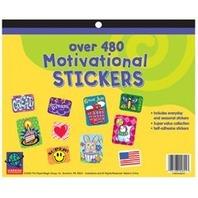 Eureka Jumbo Motivational Sticker Book 480 Count