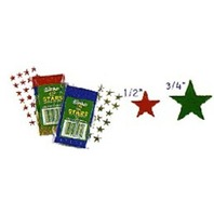 "Eureka Presto-Stick(R) Foil Stars, 1/2"", Assorted, Pack Of 250"