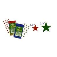 "Eureka Presto-Stick(R) Foil Stars, 1/2"", Gold, Pack Of 250"