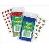 "Eureka Presto-Stick(R) Foil Stars, 1/2"", Green, Pack Of 250"