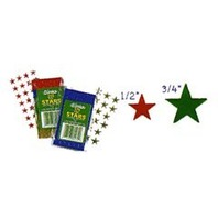 Eureka Classroom Supplies, 1/2-Inch Stickers, Red, 250 Stickers (824620)