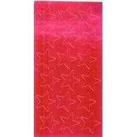 """Red Foil Star Stickers; 3/4"""" - 175 Per Pack; no. EU-82464"""