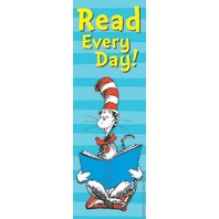 Eureka Dr. Seuss Bookmarks, Set of 36, Cat in The Hat Read Every Day (834280)