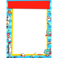 DR SEUSS STANDARD WELCOME BLANK