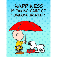 PEANUTS SOMEONE IN NEED POSTER
