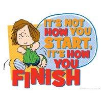 Eureka Peanuts How You Finish Poster