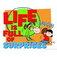 Eureka Peanuts Full of Surprises Poster
