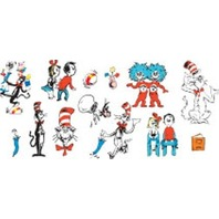 Eureka, Cat in the Hat Characters Deco Kit (840224)