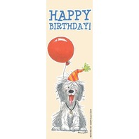 Eureka Wags and Whiskers Bookmarks, Set of 36, Birthday (834240)