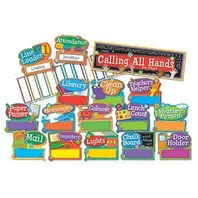 Eureka Hands on Management Job Chart Mini Bulletin Board Sets