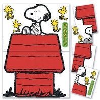 Eureka Giant Character Snoopy and Dog House Bulletin Board Sets