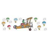 Eureka Peanuts Giant Flying Ace Snoopy Bulleting Board Set