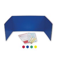 PRIVACY SHIELD ASSORTED COLORS 24CT