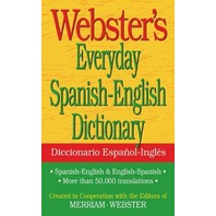 Webster's Everyday Spanish-English Dictionary (Spanish Edition)