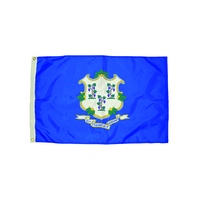 3X5 NYLON CONNECTICUT FLAG HEADING