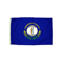 3X5 NYLON KENTUCKY FLAG HEADING &