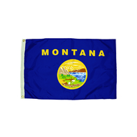3X5 NYLON MONTANA FLAG HEADING &