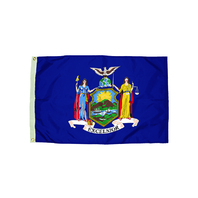 3X5 NYLON NEW YORK FLAG HEADING &