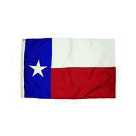 3X5 NYLON TEXAS FLAG HEADING &