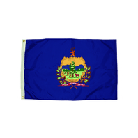 3X5 NYLON VERMONT FLAG HEADING &