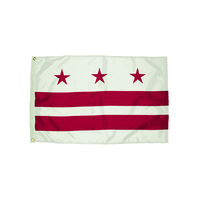 3X5 NYLON DISTRICT OF COLUMBIA FLAG