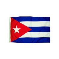3X5 NYLON CUBA FLAG HEADING &