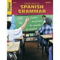 Exercises In Spanish Grammar; Book 1; no. H-HS701R