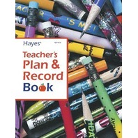 Teachers Plan And Record Book; no. H-TDP408
