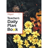 Teachers Daily Plan Book; 40 Weeks