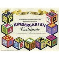 Certificates Kindergarten 30/pk