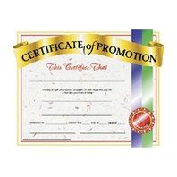 Certificates Of Promotion 30/pk