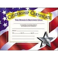 Certificates Citizenship 30 Pk