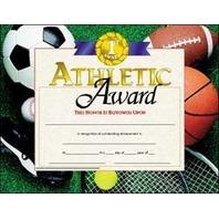 Certificates Athletic Award 30 Pk