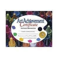 Certificates Art Achievement 30/pk